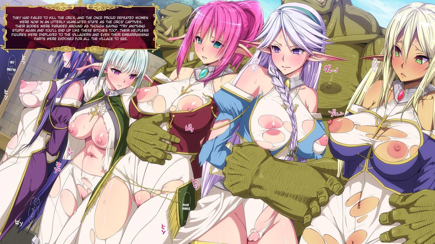 Orcs and elves hentai pictures softcore picture