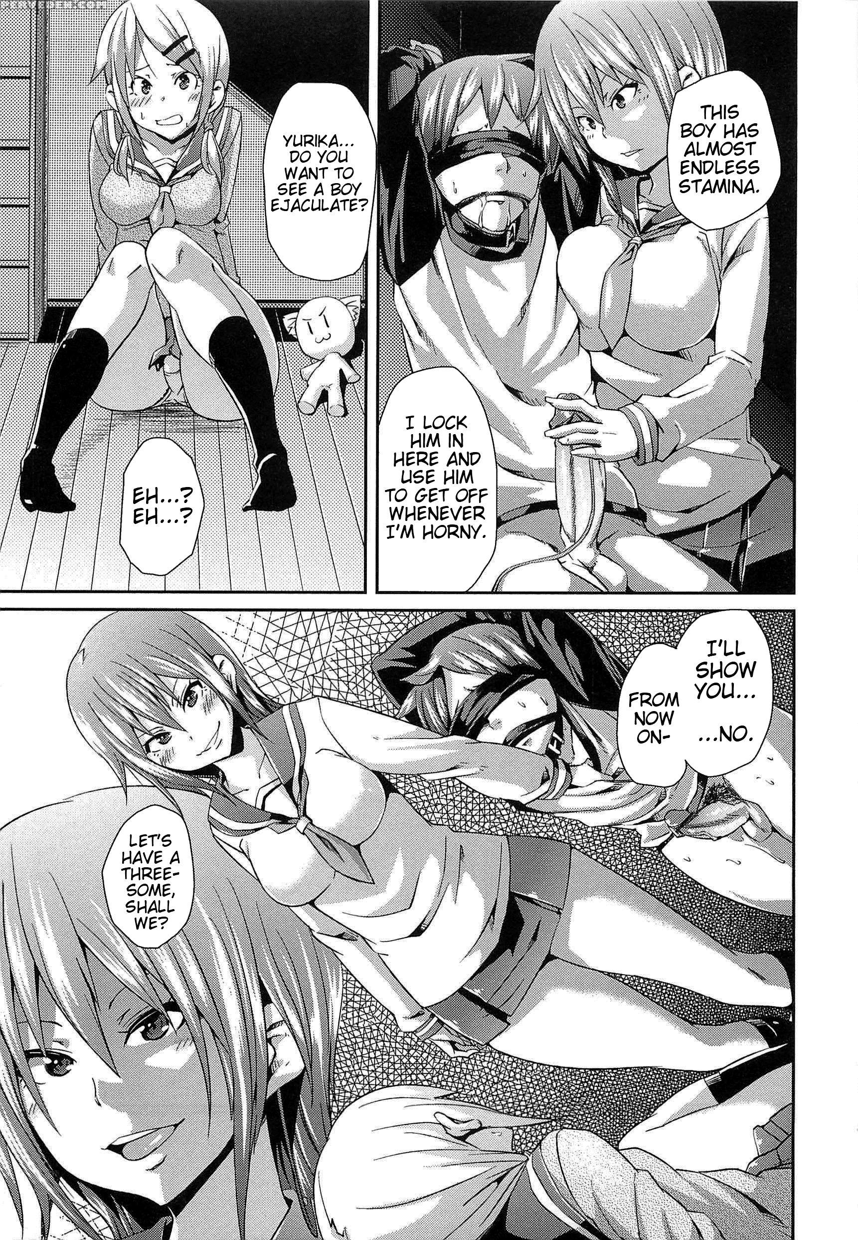 Manga Femdom